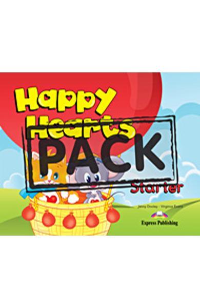 Curs limba engleza Happy Hearts Starter Manualul Elevului cu Stickers si Press Outs 978-1-84862-925-7