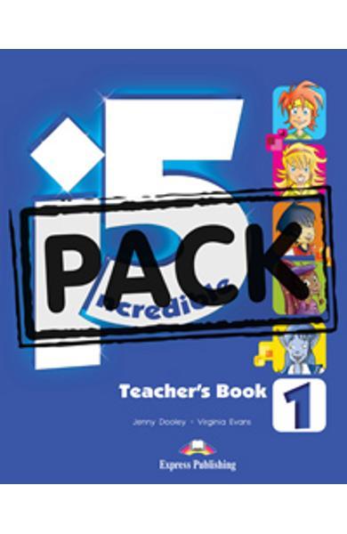 Curs limba engleza Incredible 5 1 Manualul Profesorului cu Postere 978-1-4715-1187-5