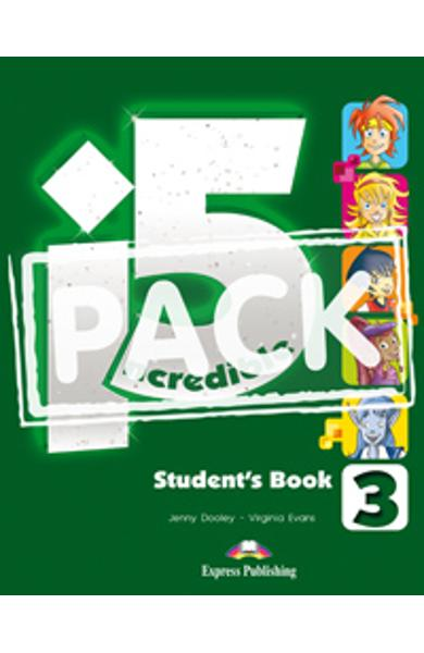 Curs limba engleza Incredible 5 3 Manualul Elevului cu ieBook 978-1-4715-1900-0