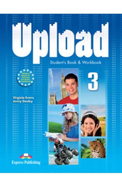 Curs limba engleza Upload 3 Pachetul elevului (manual + caiet)
