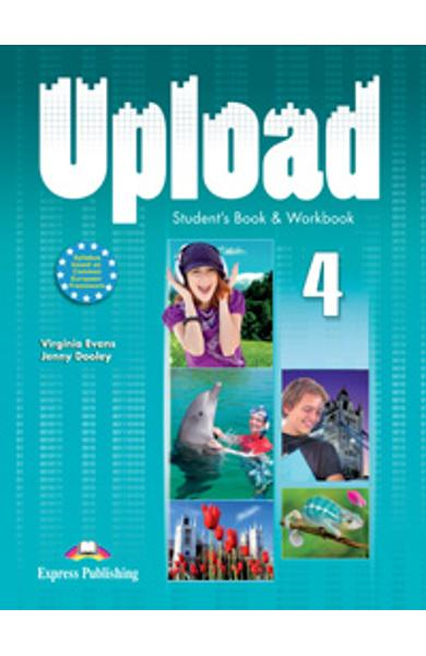 Curs limba engleza Upload 4 Pachetul elevului (manual + caiet)