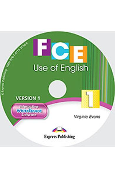 Curs limba engleza Cambridge FCE Use of English 1 Software pt. Tabla Magnetica Interactiva (revizuit 2015) 978-1-4715-3156-9