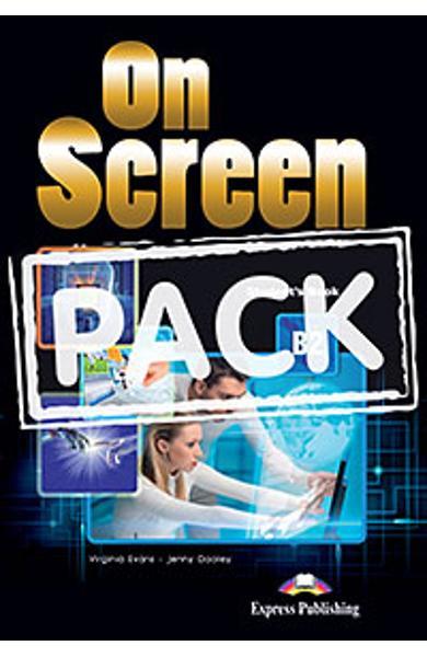 Curs limba engleza On Screen B2 Pachetul elevului (revizuit 2015)