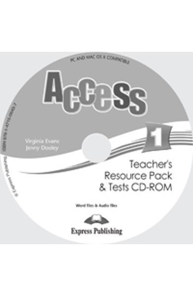 Curs limba engleza Access 1 Material aditional pt. profesor si teste CD-ROM