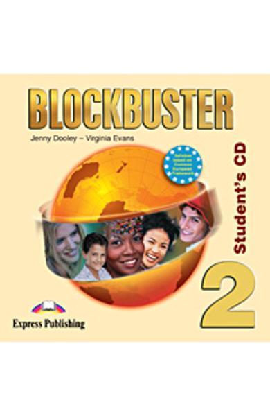Curs limba engleză Blockbuster 2 Audio CD elev