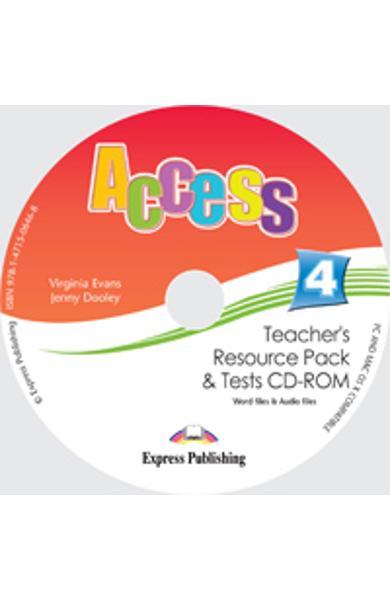 Curs limba engleza Access 4 Material Aditional pentru profesor cu teste CD-ROM