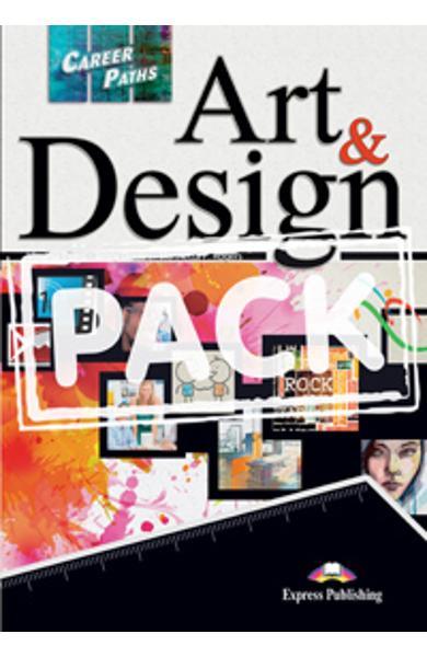 Curs limba engleză Career Paths Art & Design - Pachetul elevului (manual elev + audio CD)