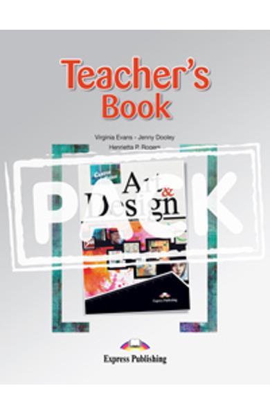 Curs limba engleză Career Paths Art & Design - Pachetul profesorului