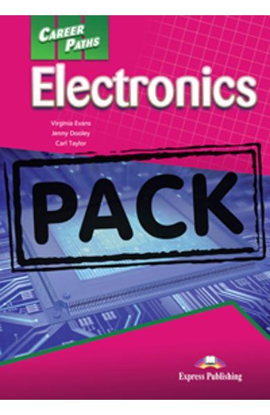 Curs limba engleză Career Paths Electronics - Pachetul elevului