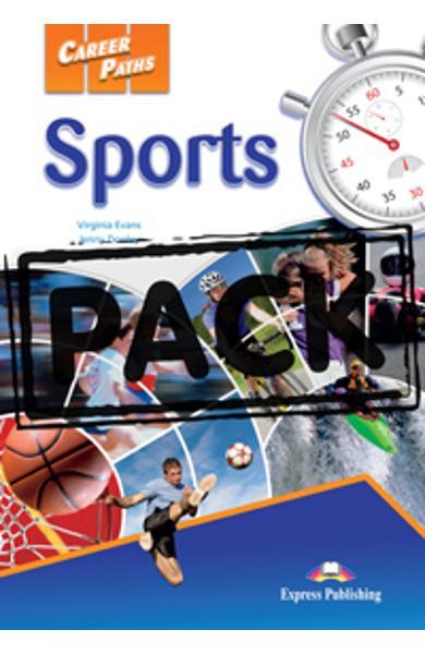 Curs limba engleză Career Paths Sports - Pachetul elevului