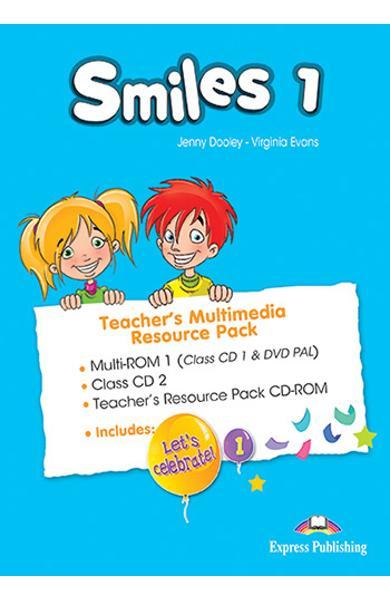 Curs Lb. Engleza Smiles 1 Material aditional ptr. profesor Pachet Multimedia