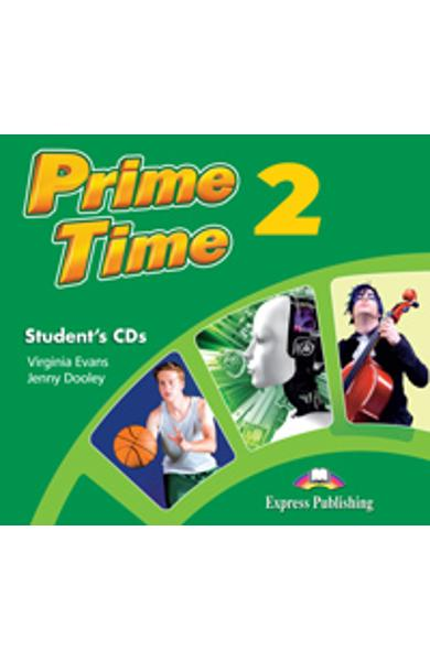 Curs limba engleza Prime Time 2 Audio CD Elev (Set 2 CD-uri) 978-1-4715-0181-4