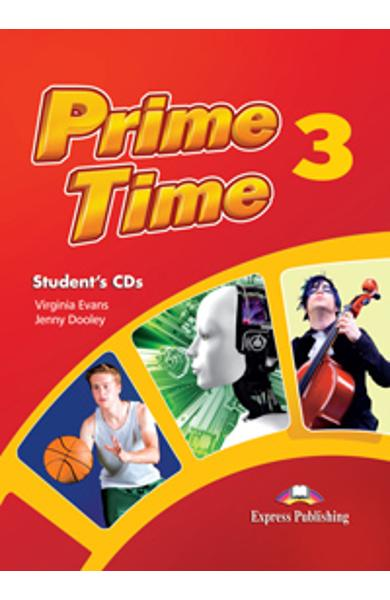 Curs limba engleza Prime Time 3 Audio CD Elev (set 3 CD-uri) 978-1-4715-0184-5