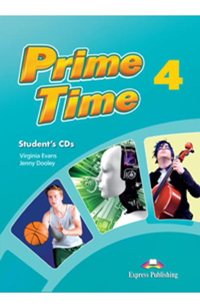 Curs limba engleza Prime Time 4 Audio CD Elev (set 4 CD-uri) 978-1-4715-0024-4