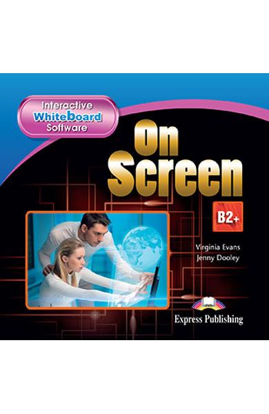 Curs limba engleza On Screen B2+ Software pentru tabla interactiva (revizuit 2015)