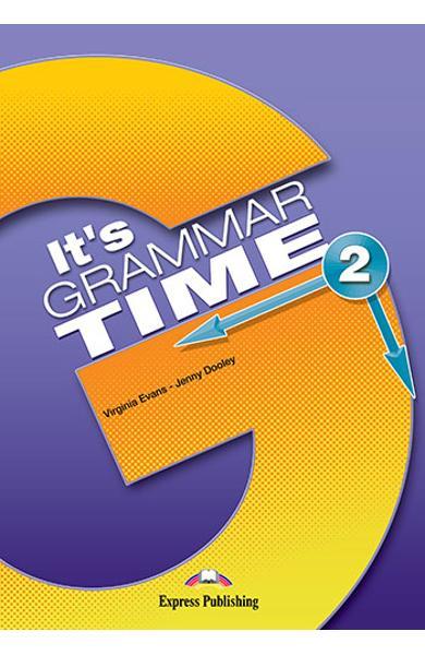 Curs de gramatică limba engleză It's Grammar Time 2 Manualul elevului