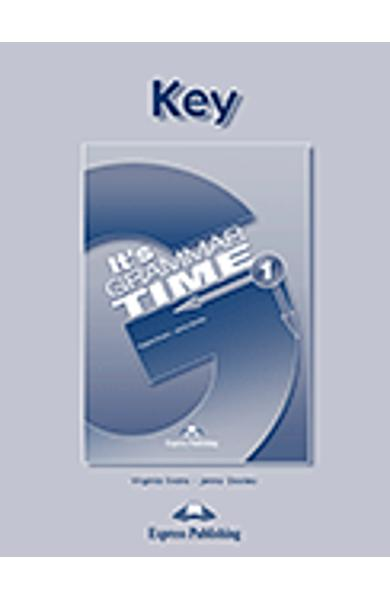 Curs de gramatică limba engleză It's Grammar Time 1 Cheie la manual