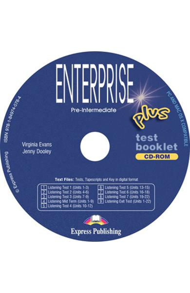 Curs limba engleză Enterprise Plus Tests CD-ROM 978-1-84974-078-4