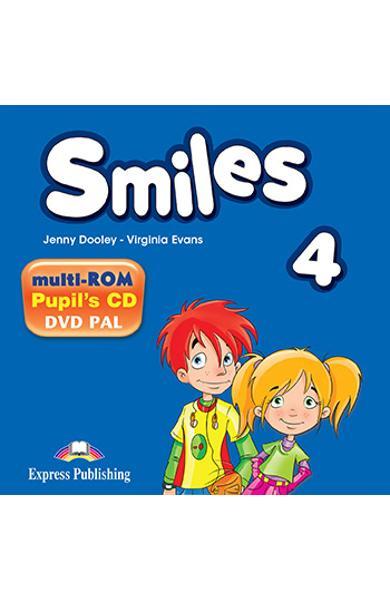 Curs Lb. Engleza Smiles 4 Multi-ROM 978-1-78098-757-6