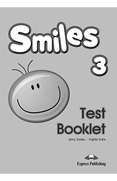Curs Lb. Engleza Smiles 3 Test Booklet 978-1-4715-1422-7