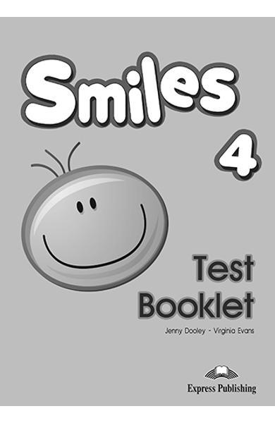 Curs limba engleza Smiles 4 Test Booklet 978-1-4715-1586-6