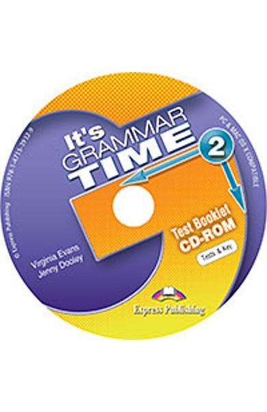 Curs de gramatica limba engleza It's Grammar Time 2 Teste CD-ROM