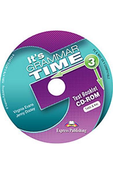Curs de gramatică limba engleză It's Grammar Time 3 Teste CD-ROM