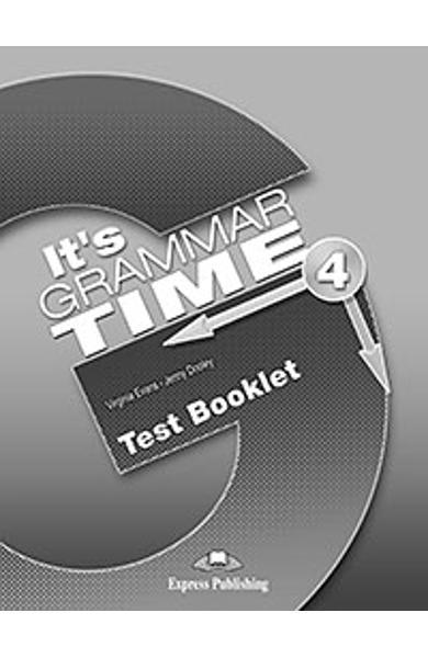 Curs de gramatica limba engleza It's Grammar Time 4 Teste