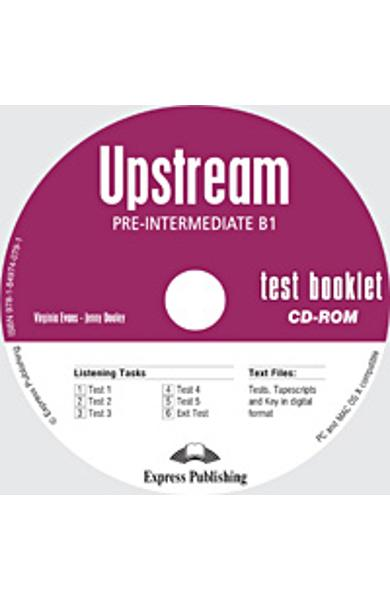 Curs limba engleza Upstream Pre-Intermediate Teste CD-ROM 978-1-84974-079-1