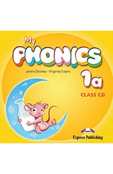 Curs Lb. Engleza My Phonics 1a Audio CD la manual 978-1-4715-2587-2