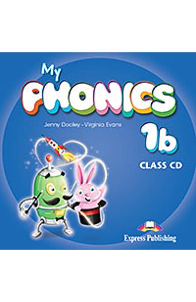 Curs limba engleza My Phonics 1b Audio CD la manual 978-1-4715-2588-9