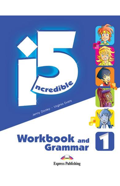 Curs limba engleza - Incredible 5 1 - Caiet si Gramatica 978-1-4715-1135-6