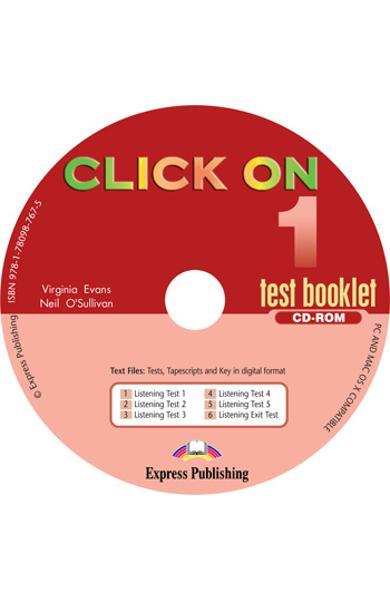 Curs limba engleza Click On 1 CD-ROM cu teste 978-1-78098-767-5