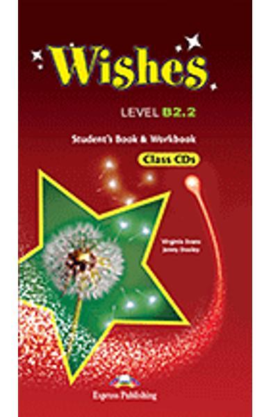 Curs limba engleza Wishes B2.2 audio CD la manualul si caietul elevului ( set de 9 CD-uri ) (revizuit 2015) 978-1-4715-2415-8
