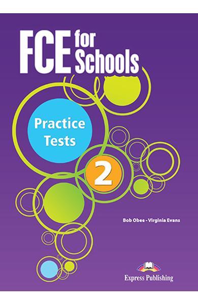 Curs limba engleza Examen Cambridge FCE for Schools Practice Tests 2 audio CD (set 5 CD-uri)(revizuit 2015) 978-1-4715-3401-0