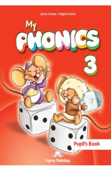 Curs Lb. Engleza My Phonics 3 audio-CD manual (set 2) 978-1-4715-2723-4