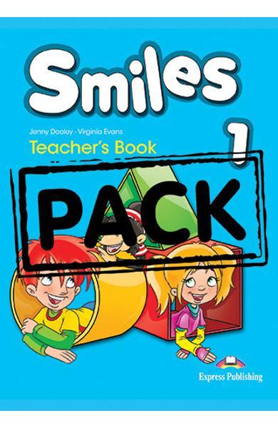 Curs limba engleza Smiles 1 Manualul Profesorului (with Let's Celebrate posters)