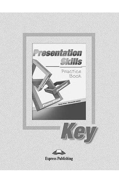 Curs limba engleza Presentation Skills Practice Cheie la manualul elevului
