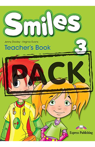 Curs limba engleza Smiles 3 Manualul Profesorului (with Let's Celebrate posters)