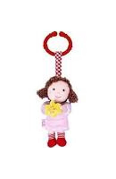 JUCARIE DECORATIVA CARUCIOR, INGER ROZ - BABY CHARMS 12875