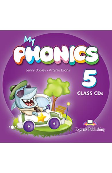 CURS LB. ENGLEZA MY PHONICS 5 AUDIO CD MANUAL (SET OF 2) 978-1-4715-2733-3