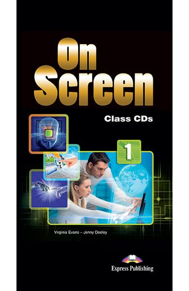 Curs limba engleza On Screen 1 Audio CD (set 5 CD-uri)