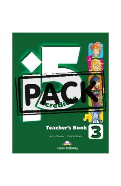 Curs limba engleza Incredible 5 3 Manualul profesorului cu postere
