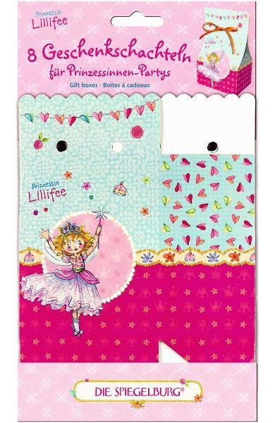 Cutii de cadou (8 buc.) - Printesa Lillifee 11540