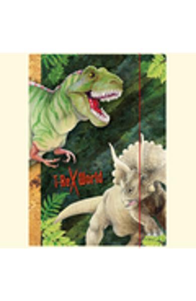 Mapa A3 - Lumea dinozaurilor T-Rex