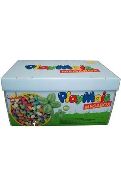 Material de construit şi modelat - cutie Playmais Megabox