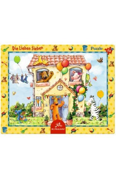 """Rama puzzle """"La vila cu sapte prieteni""""- Cei sapte prieteni 11637"""