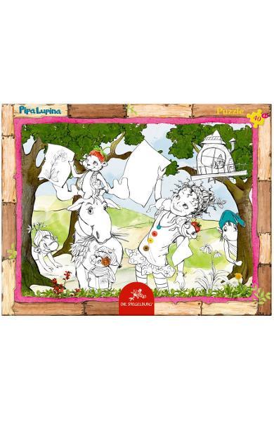 Rama Puzzle (40 piese) - Pipa Lupina 12675