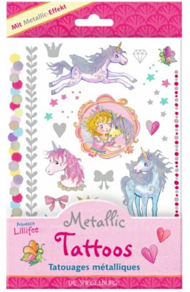 Tatuaje metalice - Printesa Lillifee 13848