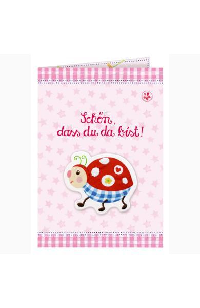 Felicitare - Baby Gluck, roz 92468